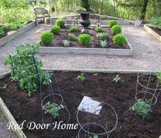 pea gravel, fence | Details of My Garden and Fire Pit Information