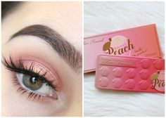 Summer Peach Tutorial | Too Faced Sweet Peach Palette