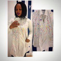 Phumie: Paint Splatter Paint Splatter, How To Wear, Painting, Painting Art, Paintings