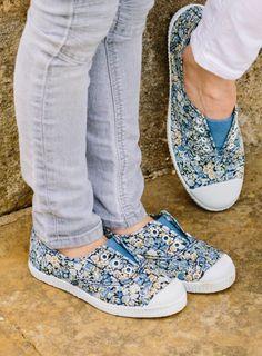 Beautiful Liberty print shoes