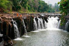 Meseta de Bolave, en Laos