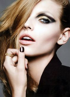 Karlina Caune Shines in Dior Magazine F/W 2013 by Ben Hassett