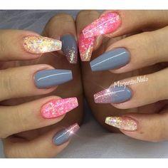 Gray+And+Pink++by+MargaritasNailz+-+Nail+Art+Gallery+nailartgallery.nailsmag.com+by+Nails+Magazine+www.nailsmag.com+%23nailart