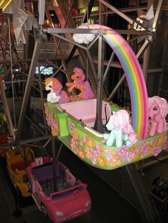 nyc toys r us ferris wheel - Jacob, Emma and Taylor got the My Little Pony car Nostalgic Pictures, Im Losing My Mind, Weird Dreams, Aesthetic Indie, Wall Collage, Aesthetic Pictures, Decoration, My Little Pony, Childhood Memories