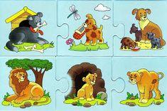 Album Archive - schiwotnie i detönischi-puzzle Animal Activities, Farm Theme, Life Cycles, Book Illustration, Illustrations, Pre School, Fun Games, Scooby Doo, Puzzles