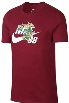 412a2e97f43774 Nike   Jordan Brand Clothing-Shoes · Nike SB Chinese New Year Of The Dog  T-Shirt Maroon AR3998 618 Men s Size