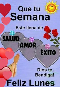 Happy Week, Frases, Happy Monday, God Bless You