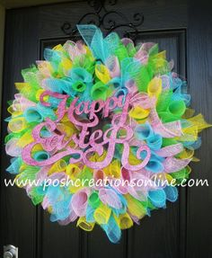 easter wreaths | Easter Wreath | crafts for the holidays