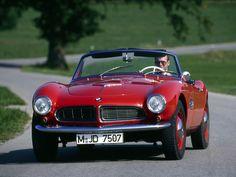 #BMW #507 #Goetz designed 1955