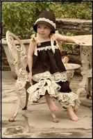 Image of Lacey 2 piece set with hat size 2T-3T