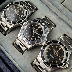 Rolex Submariner, vintage. KSK luxury as a way of life