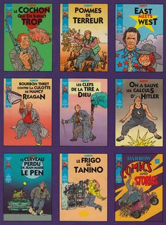 Geoff Darrow's fake french comic series.  In the US, it's known as Shaolin Cowboy, and it's deeply missed.