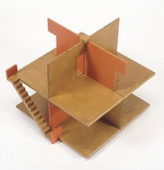 Peer Clahsen designed this etagen-puppenhaus (l) for Naef around I'm going to say he also had something to do with this one for Creat. Dollhouse Toys, Dollhouse Furniture, Dollhouse Miniatures, Kids Doll House, Cardboard Toys, Ideas Geniales, Wooden Puzzles, Miniature Houses, Boy Doll