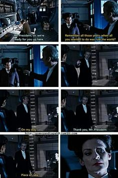 Twelve and Missy. The greatest burn in the history of their relationship.
