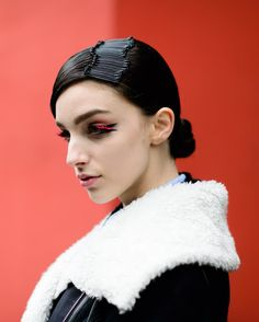 Larissa  www.nyavgjoe.com #TylerJoe #NYAVGJOE  @larissamarchiori #MFW #Milan #Milano #FW16 #FashionWeek #StreetStyle #Style #Fashion #Mode #Moda #ModelsOffDuty by nyavgjoe
