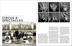 I V A N A L O N S O: magazine layouts round 1