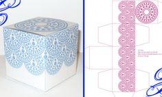 favor box template printable