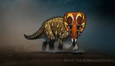 """Another fan art of the Saurian game and it's awesome Triceratops! I didnt really like the color scheme at first but now I love it. Listened to """"Scowler Duel"""" track from WWD 3D and it fits this imag..."""