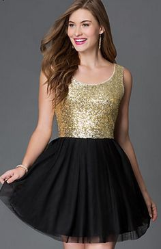 bfb072e63d Shop short gold prom dresses and long formal gold gowns at PromGirl.  Homecoming party dresses in metallic gold and gold cocktail party dresses.