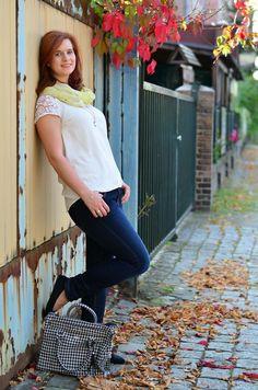 Look #Fashion #mode #jeans #outfit #streetstyle #modeblog #casual #herbstlook #autumn #autumnlook #bag #handbag #laub #fashionblog #modeblog