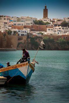 Rabat, Morocco - the river