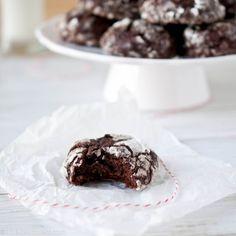 week 11 - chocolate stout crinkle cookies, via the beeroness.