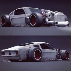 "10.7k Likes, 78 Comments - MuscleKingz™ (@musclekingz) on Instagram: ""Thoughts on the #RatStang ? ___ Render: @sleepy_abbey"""