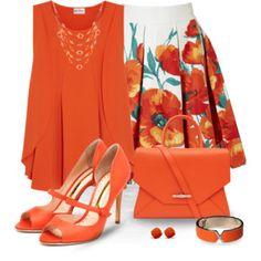 Orange, orange and more orange!