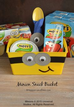 Minion Snack Bucket
