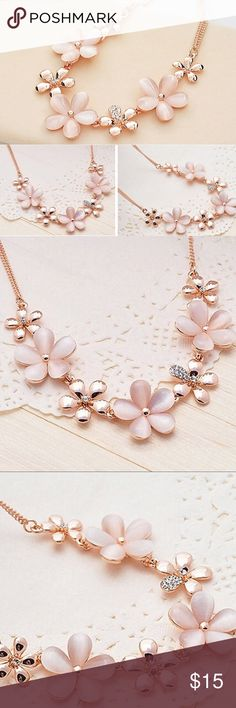 *COMING SOON!* Flower Statement Necklace Stunning! Just stunning! Arrives in 3-5 weeks! I'll update when it arrives! Glimmergal16 Jewelry Necklaces