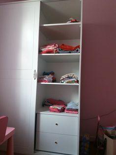 Η ντουλάπα στο παιδικό δωμάτιο Closet, Home Decor, Armoire, Decoration Home, Room Decor, Closets, Cupboard, Wardrobes, Home Interior Design