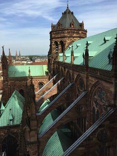 Montée plate-forme cathédrale