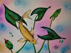 Watercolor by Lisa Tahir