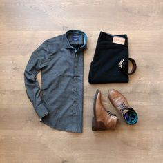 Men's Fashion, Patterned Shirt, Chinos, Boots #mensfashion #boots #chinos