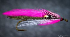 Pink Beauty from Carrie StevensNext up on our streamer authorities is Carrie G. Stevens from Maine whose streamers are one of the best recognised today. Carrie begun tying flies 1924 and became well known next year when she came second in the Field & Stream magazines annual contest after catching a record trout with her own fly.She soon found herself tying flies professionally and created many patterns throughout her career.