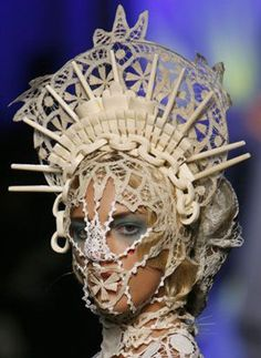 French designer Jean-Paul Gaultier, Spring-Summer 2007 Haute Couture fashion collection in Paris. Description from pinterest.com. I searched for this on bing.com/images