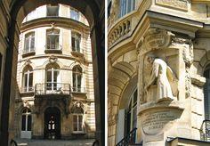Le vent du boulet -  L'alignement rectiligne des immeubles du boulevard de Sébastopol a épargné miraculeusement quelques nobles bâtisses; le centre de Paris n'était pas constitué que de masures.