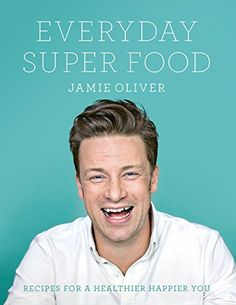 Booktopia has Everyday Super Food, Recipes for a healthier happier you by Jamie Oliver. Buy a discounted Hardcover of Everyday Super Food online from Australia's leading online bookstore. Superfoods, Schnitzel Pizza, Sans Gluten Sans Lactose, Personalized Books, Quesadilla, Healthy Smoothies, Eating Well, Healthy Eating, Stuffed Peppers