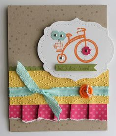 Stampin' Up! Card  by Heather Summers