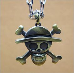 Fashion necklace retro exaggerated the king of pirates