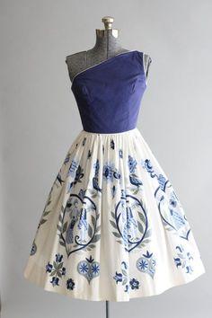 Vintage 1950s Dress / Tuesday Rose Vintage