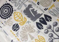 Woodland fabric nursery