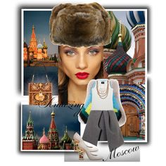 Amazing Moscow, created by stylepersonal on Polyvore