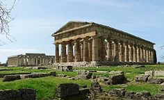 One of the many temples in Paestum, Italy (south of Naples) which is  part of one of the most well-preserved  Greek communities dating back as far as the 7th century BC. The ruins here are amazing and almost no one goes there!