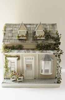 Cinderella Moments: Spirited Away Cottage Dollhouse