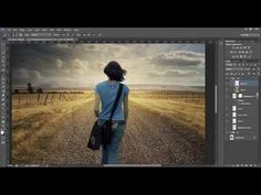 Grungy mood with dramatic light - Photoshop tutorial