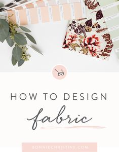 Learn Adobe Illustrator, pattern design and the business of how to become a licensing artist with Bonnie Christine. ❤️