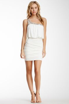 City Triangles Sequin Shoulder Pleated Dress by City Triangles on @nordstrom_rack