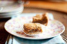 NIce crust, gooey brown sugar filling, with a crispy, delicate top crust--like a lemon bar but brown sugar bar!