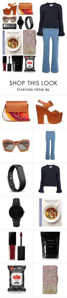 """5.230"" by katrina-yeow ❤ liked on Polyvore featuring Chloé, STELLA McCARTNEY, Gucci, Fitbit, 3.1 Phillip Lim, CLUSE, Chronicle Books, Smashbox, Cleanse by Lauren Napier and Yes to Tomatoes"